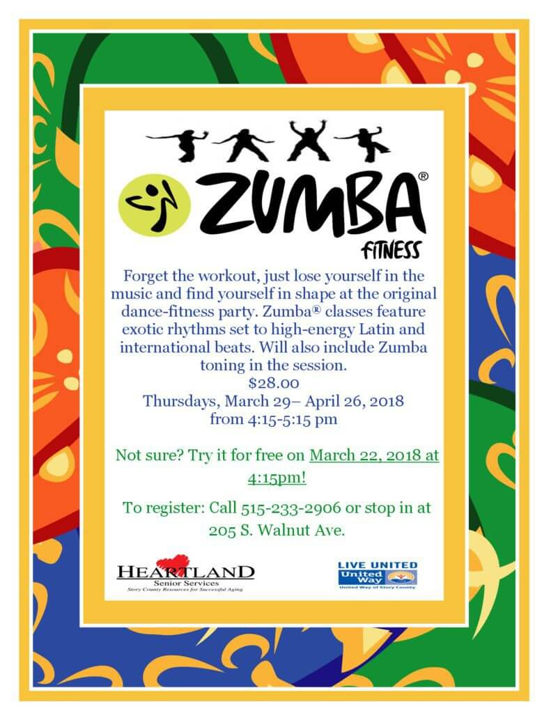 thumbnail of Zumba Flyer march 2018