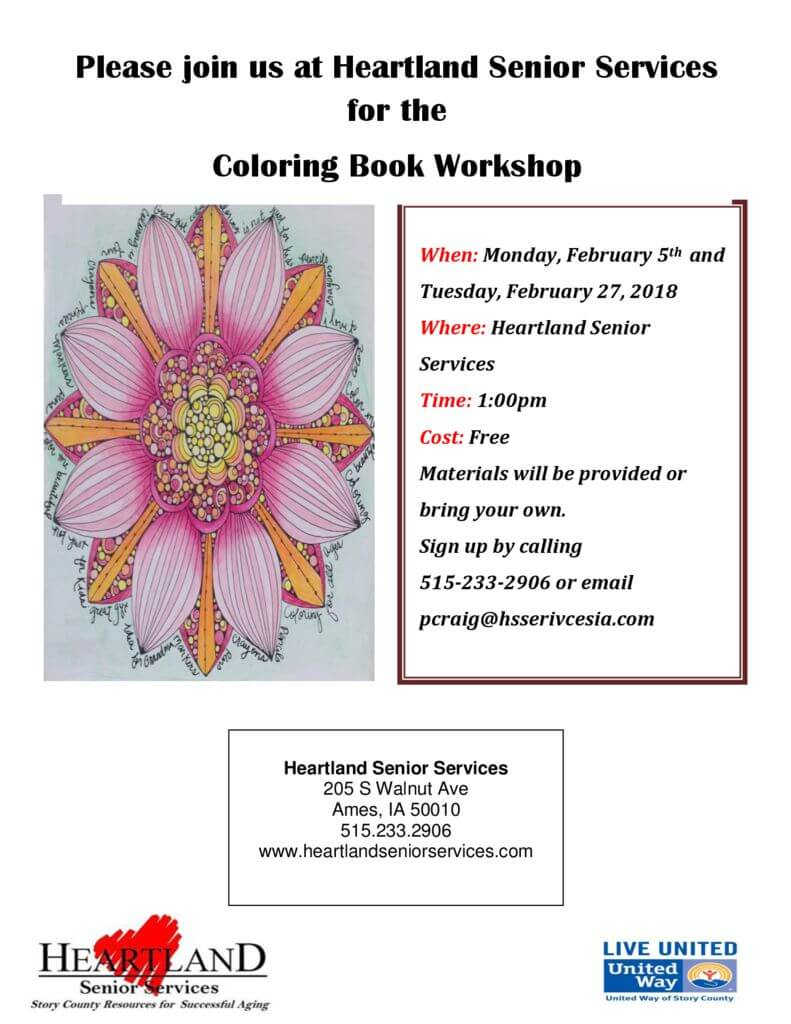 thumbnail of coloring book workshop Feb. 2018