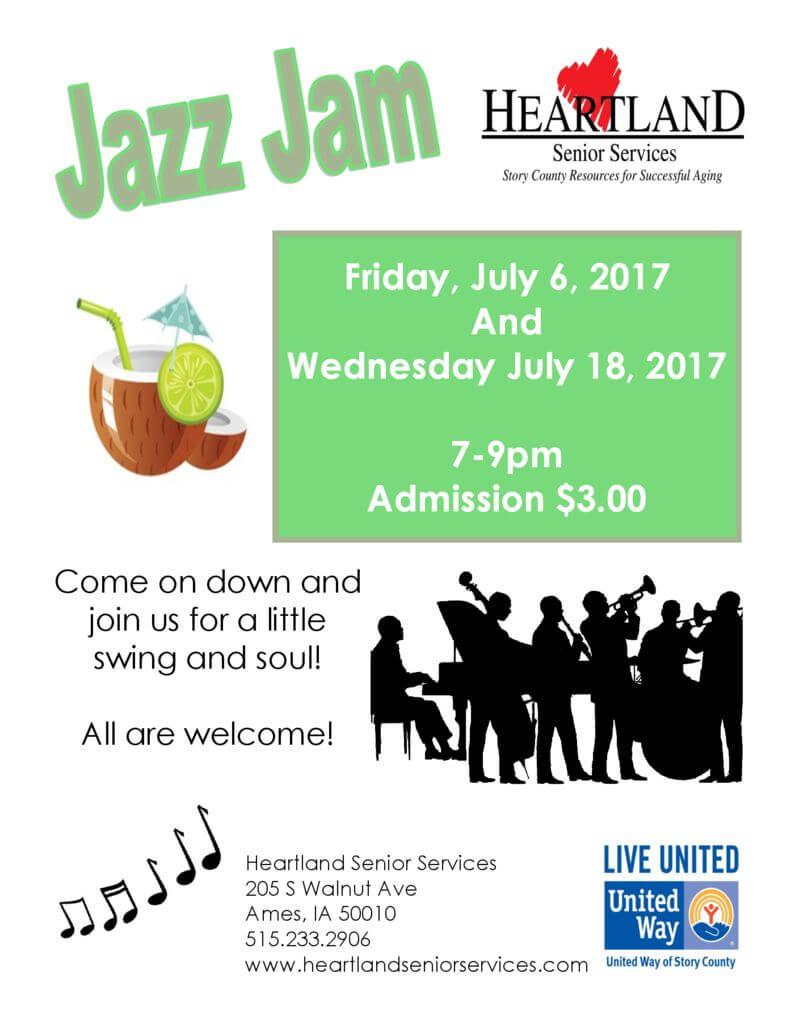 thumbnail of Jazz Jam July 2018