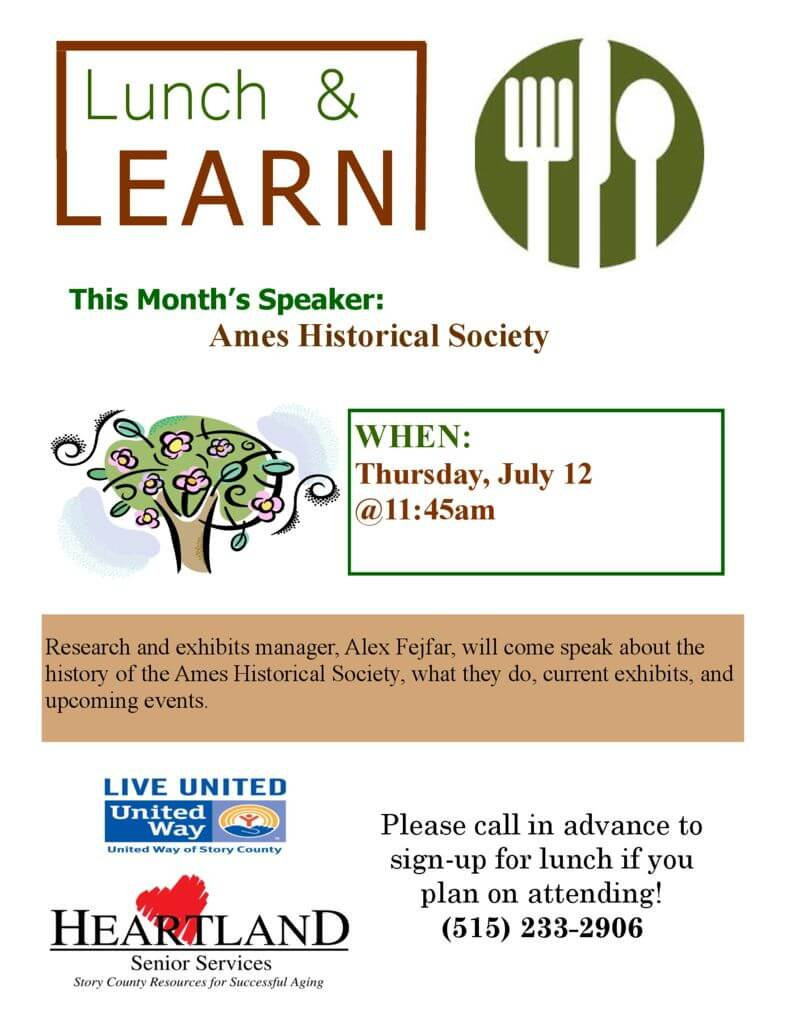 thumbnail of July Lunch and Learn