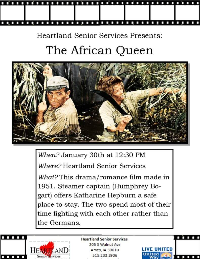 thumbnail of The African Queen Movie Flyer